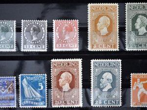 Nederland series voor 1940
