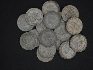 Beleggingsmunten zilver